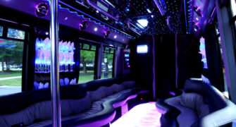 22 people Tampa party bus