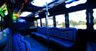 40 people party bus Amsterdam