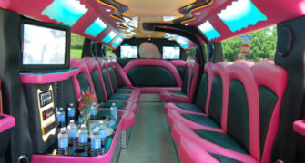 miami pink hummer limousine tampa