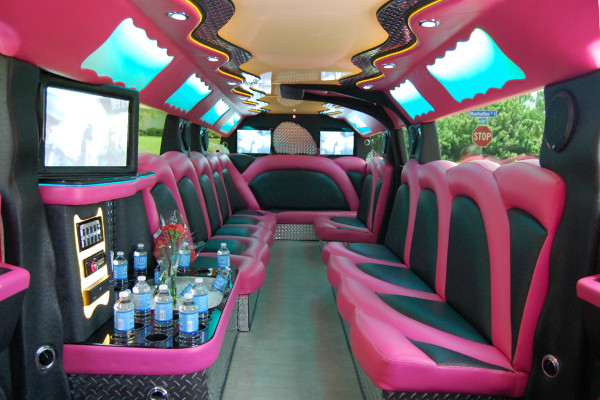 miami pink hummer limousine tampa