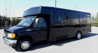18 passenger party buses Brandon