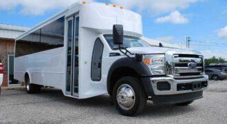 22 Passenger party bus rental Pinellas Park
