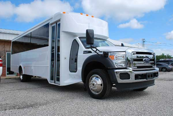 22 Passenger party bus rental Pinellas Park