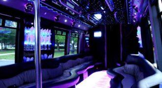 22 people Brandon party bus