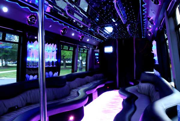 22 people Lutz party bus