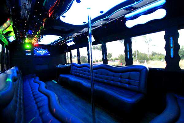 40 people party bus New Port Richey