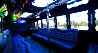 40 people party bus St. Petersburg