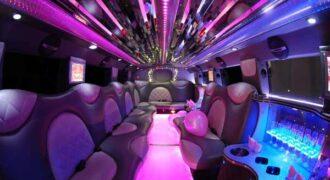 Cadillac Escalade Clearwater limo interior