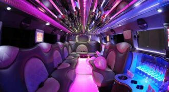 Cadillac Escalade Pinellas Park limo interior
