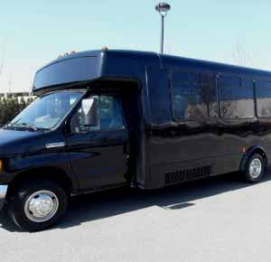 Charter Party Bus Rental near Tampa
