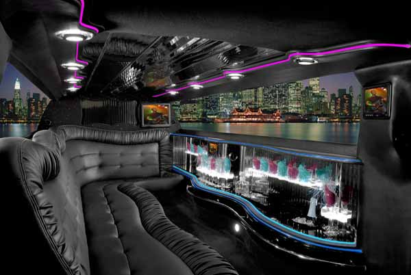 Chrysler 300 Plant City limo interior