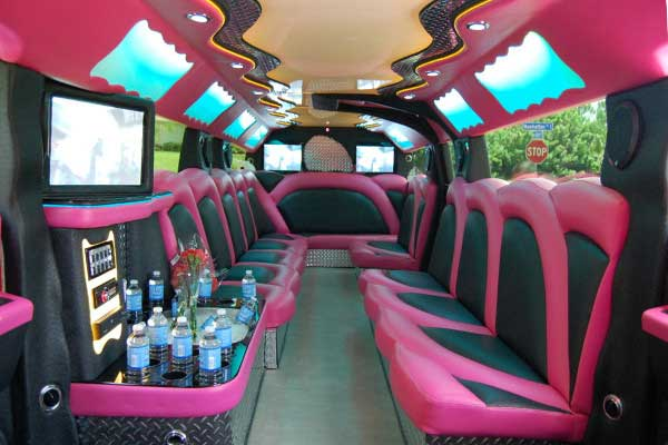 miami pink hummer limousine Palmetto