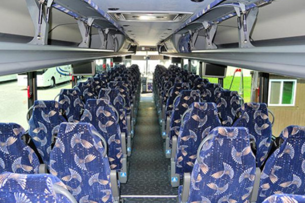 40 Person Charter Bus New Port Richey