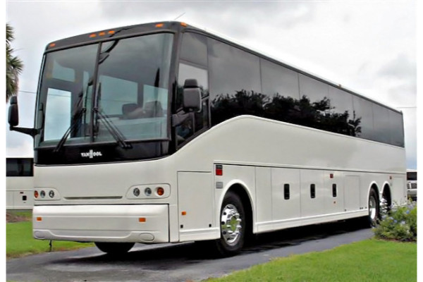50 Passenger Charter Bus New Port Richey