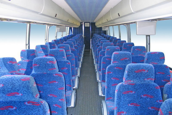 50 Person Charter Bus Rental Dunedin